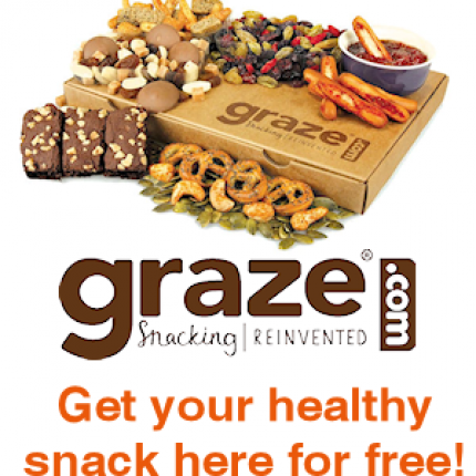 Get Your Free Graze Box of Healthy Snacks!